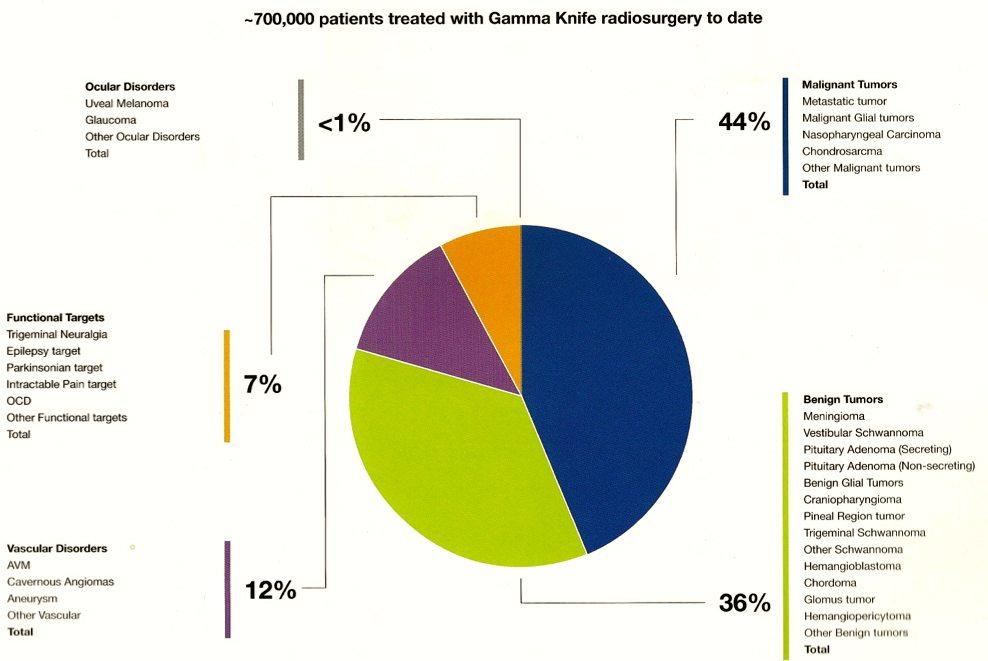 World Wide Gamma Knife Stats