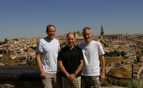 Drs. Bruce, Sisti, & Solomon in Spain