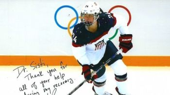 Dr. Michael Sisti's Patient Lives Olympic Dream